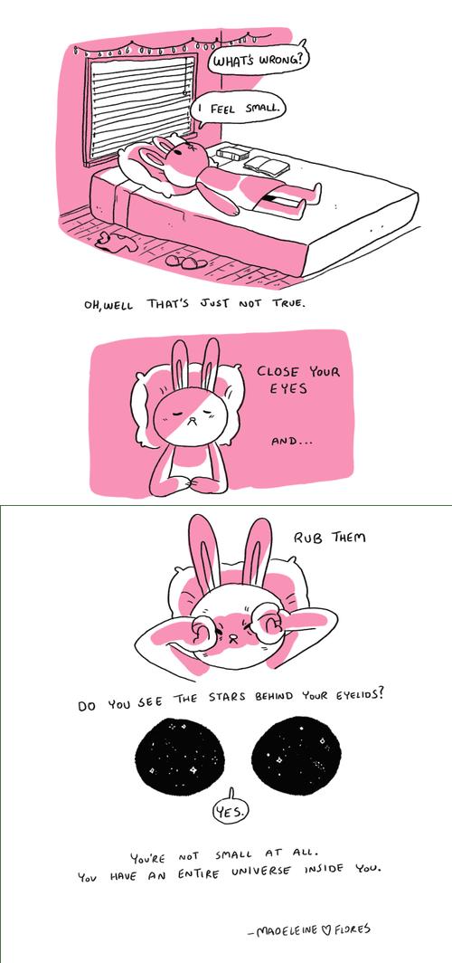 rabbits stars universe web comics - 8237846272