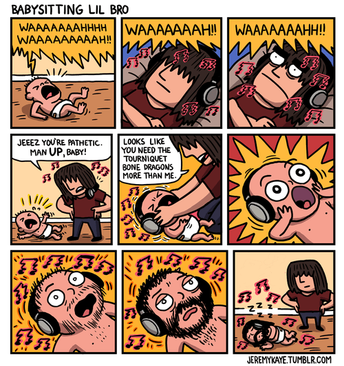 Babies,metal,Music,sick truth,web comics