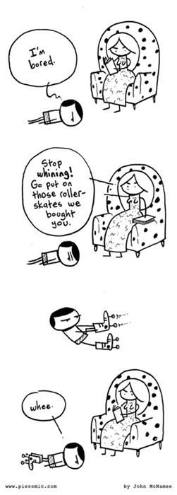 boredom kids rollerskates web comics - 8237910272