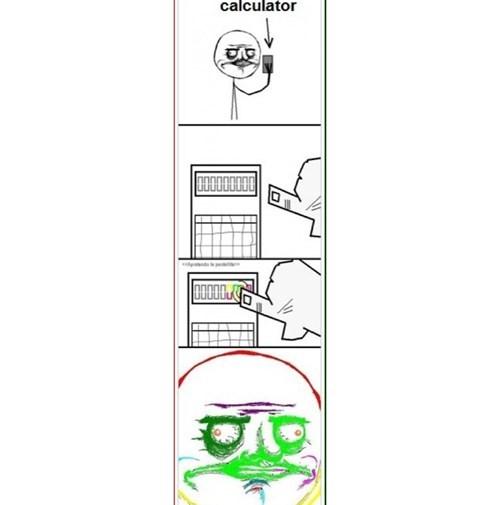 calculator me gusta rainbow - 8237945088