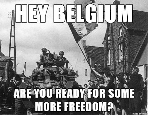 belgium freedom soccer world war II world cup - 8237959936
