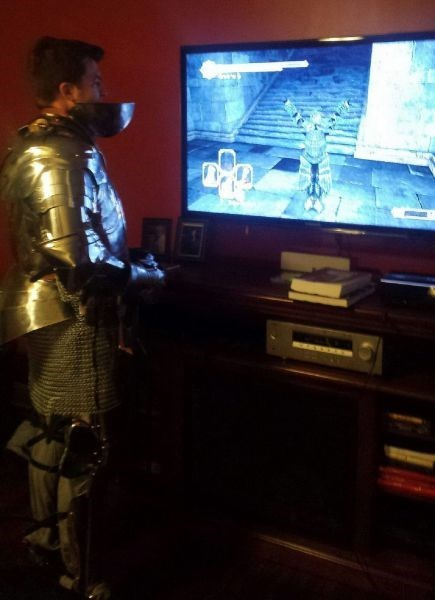 armor,video games,poorly dressed,g rated