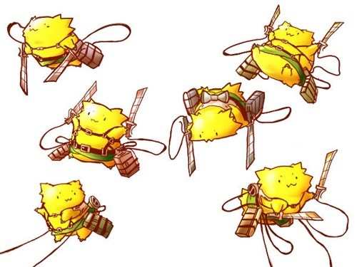 joltik,attack on titan