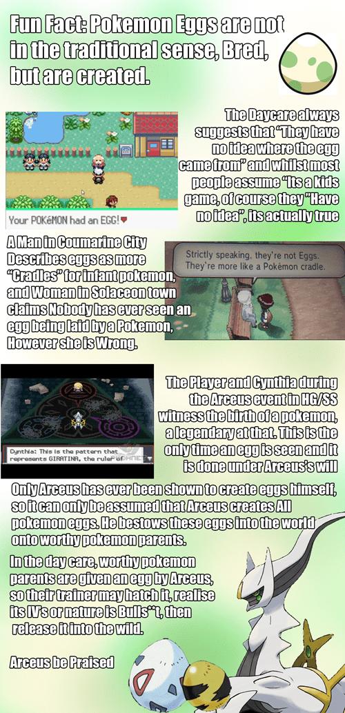 arceus eggs Pokémon - 8239437312