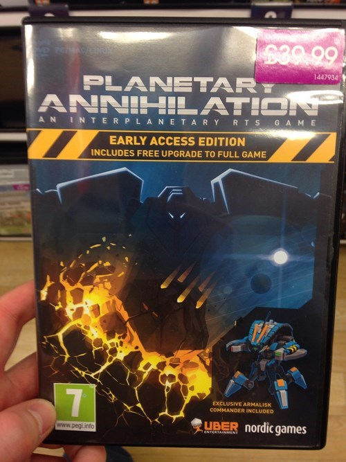 video games uber planetary annihilation this is sad