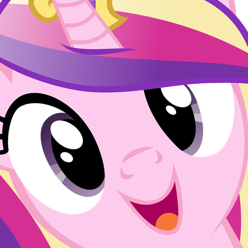 surprise,squee,princess cadence