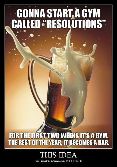 gym funny resolutions