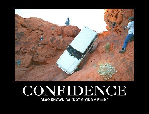 cars confidence funny - 8239960064