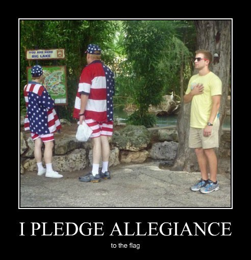 flag,pledge of allegiance,funny,shirts