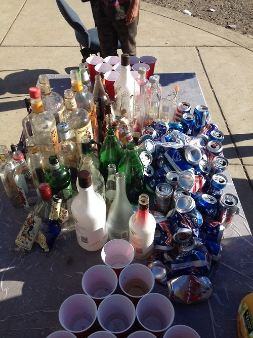 booze empties funny Party