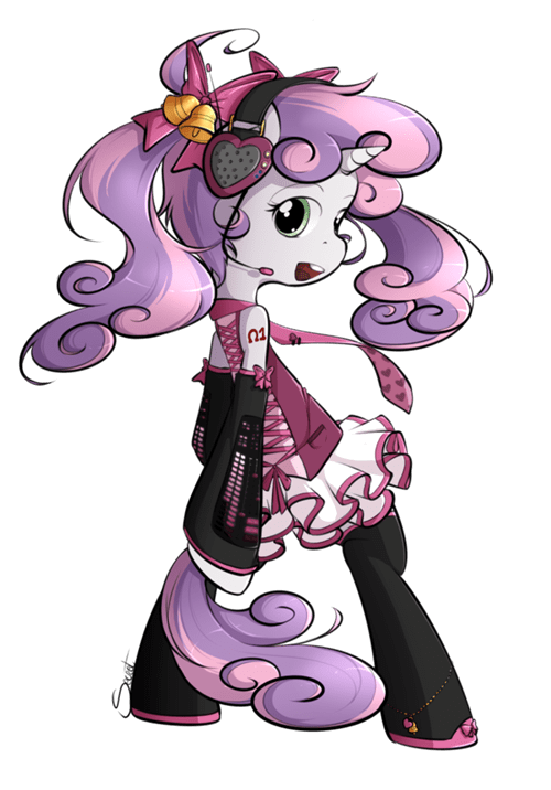 Fan Art upgrade Sweetie Belle - 8240037376