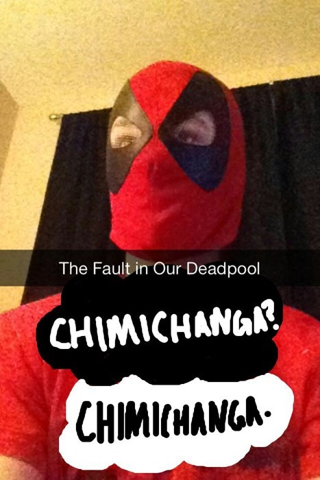 chimichanga deadpool john green - 8240080896