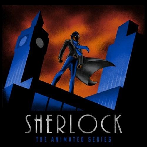 animated Sherlock tshirts - 8240081920