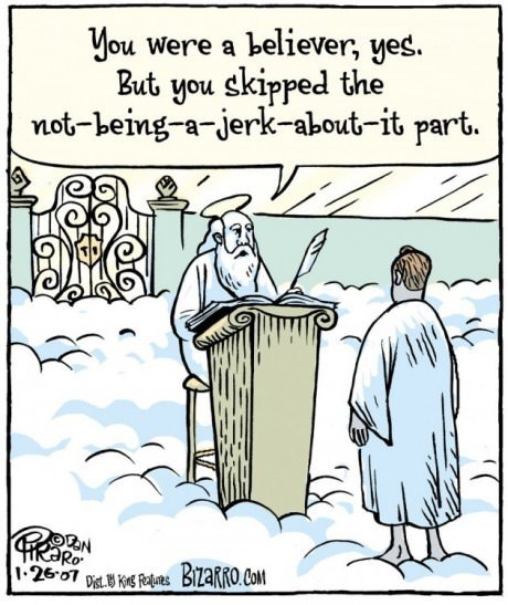 religion heaven web comics bizarro comics - 8240353024