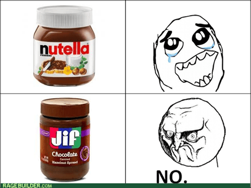 jif,no,nutella,knockoff