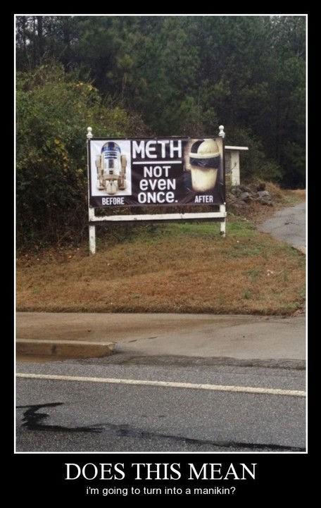 funny meth r2-d2 trashcan