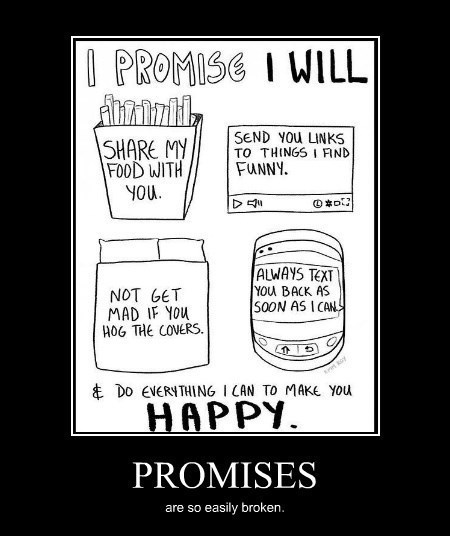 broken funny promise relationships
