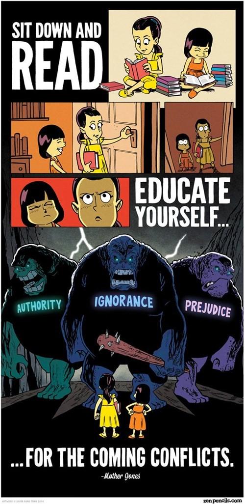 education reading sick truth web comics