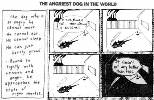 david lynch,dogs,mindwarp,web comics