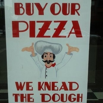 fast food puns monday thru friday sign work pizza - 8240447232