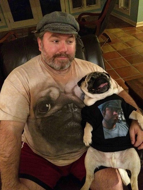 dogs,pug,t shirts,poorly dressed,g rated
