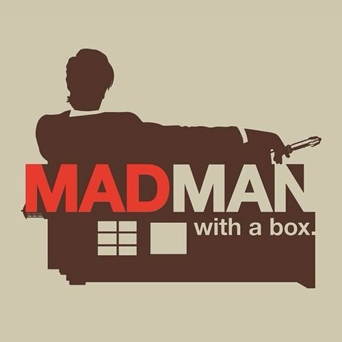 11th Doctor mad men tshirts - 8240499712