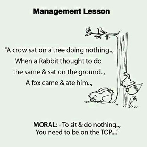 lesson monday thru friday management