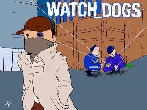 meanwhile in russia,russia,Watch_dogs