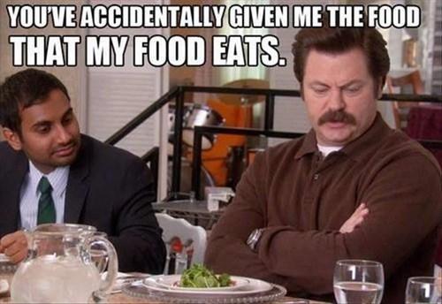 meat restaurant ron swanson