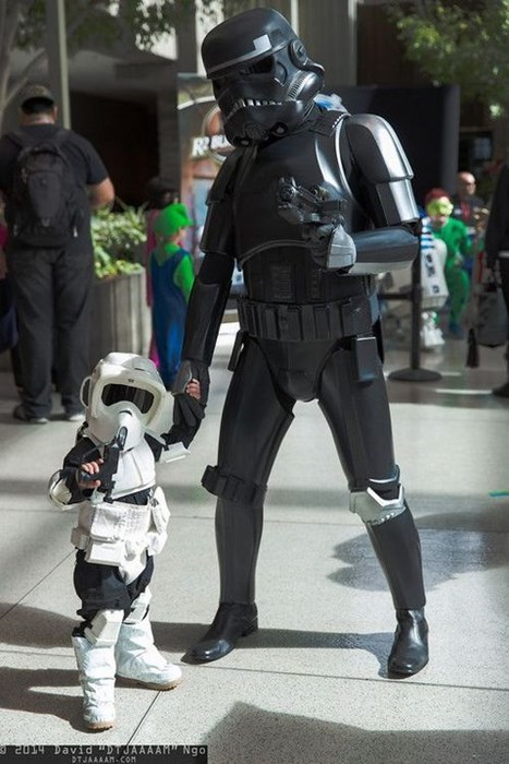 cosplay,stormtrooper,kids