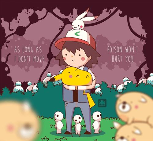Pokémon Fan Art poison - 8240635904