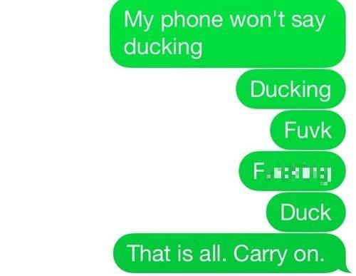 phones autocorrect cursing swears - 8240724480