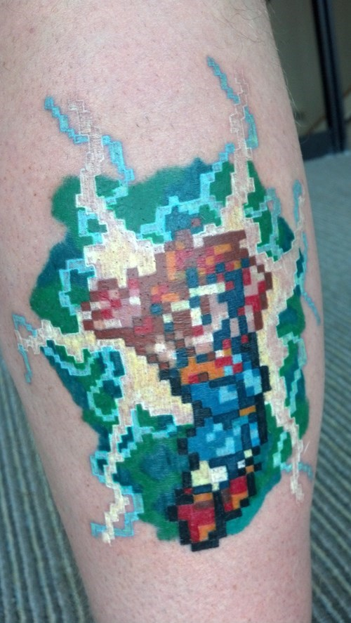 Chrono Trigger,tattoos,chrono