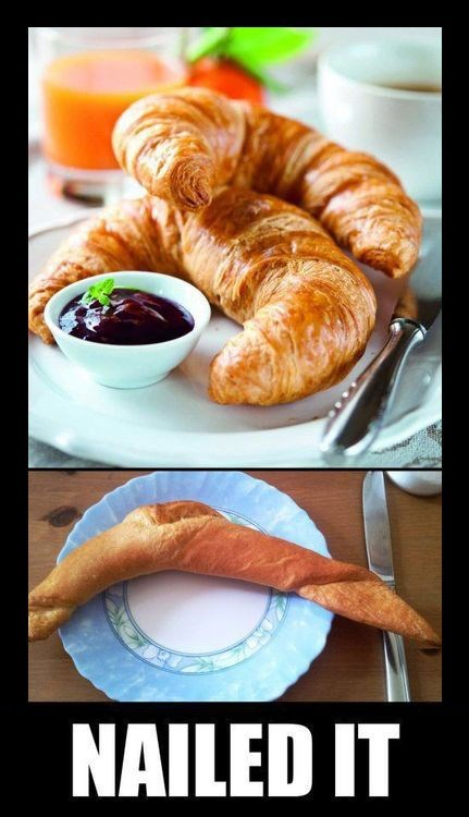croissant funny Nailed It - 8241273088