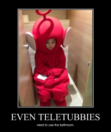 teletubbies wtf bathroom funny - 8241275392