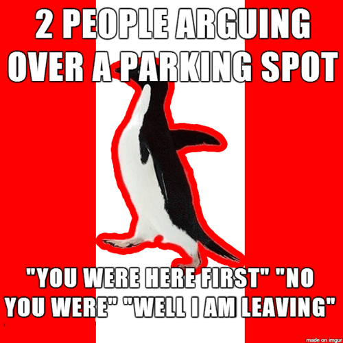 Canada canada day sorry socially awkward penguin socially canadian penguin - 8241403648