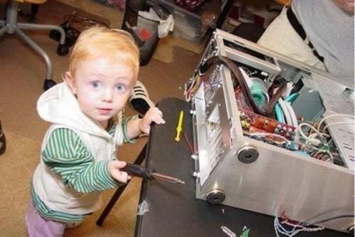 computer kids parenting repair