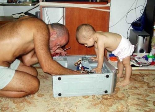 baby computer parenting repair - 8241413120