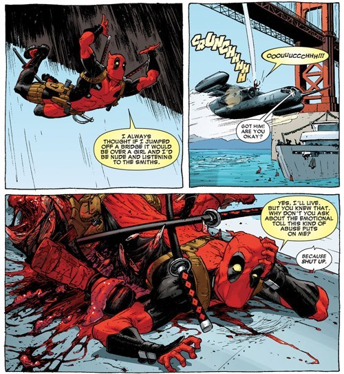 deadpool Straight off the Page stress - 8241432064