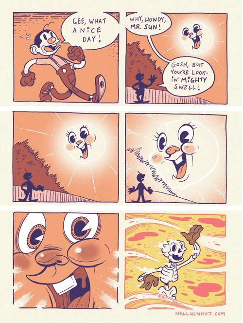 sun web comics the indifference of nature - 8241477120