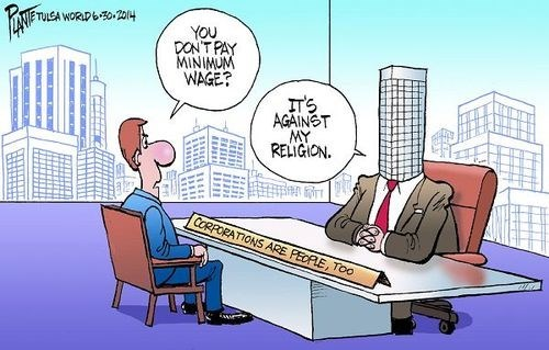 religion business politics minimum wage web comics - 8241499392