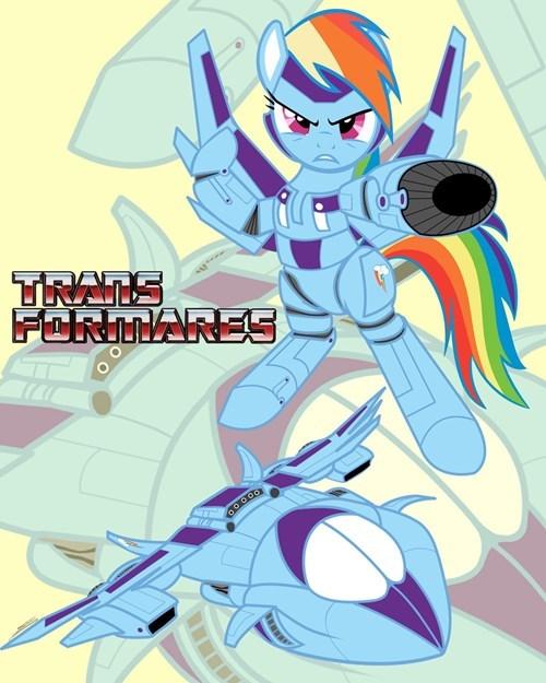 more than meets the eye transformers rainbow dash - 8241505024