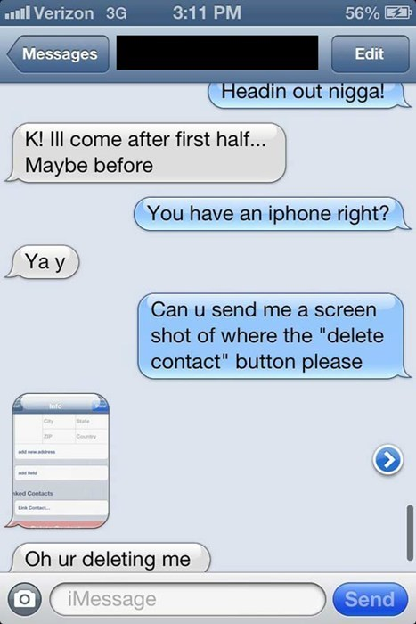 burn,iphone,unfriend