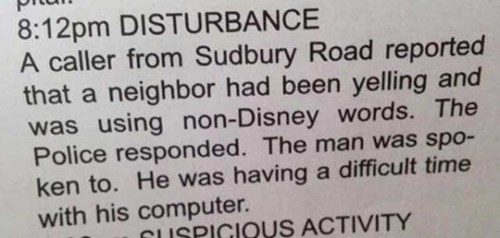 disney newspaper Probably bad News fail nation g rated - 8241622784