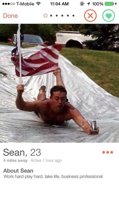 beer,patriotic,funny,online dating,tinder