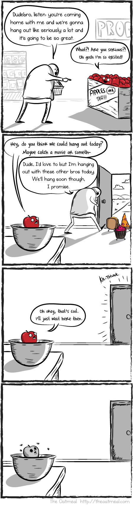 food,fruit,nutrition,sad but true,web comics