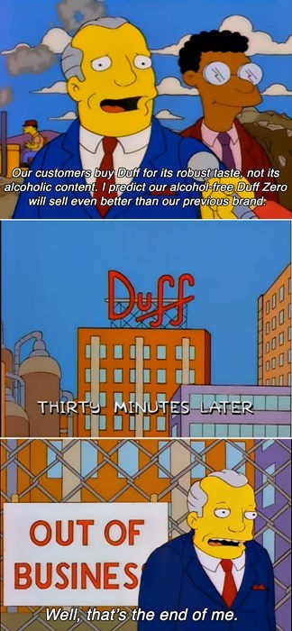 duff funny the simpsons - 8241788928
