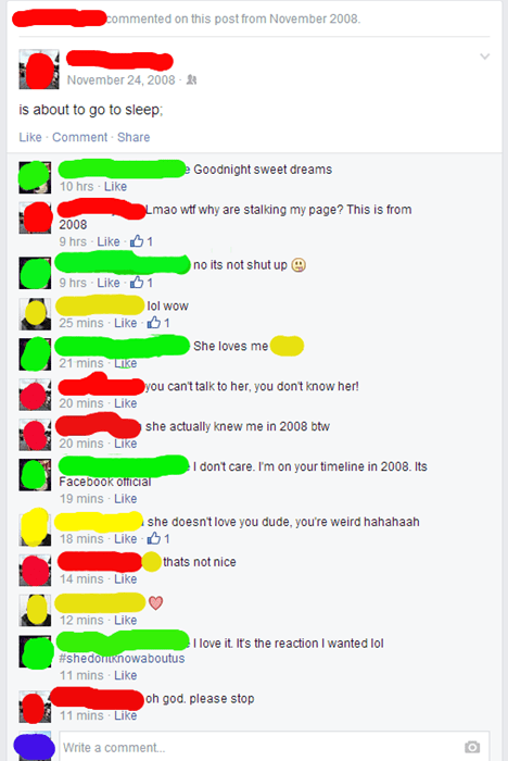If You're Gonna Creep on a Girl's Facebook Page, Maybe Don't Comment