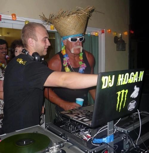 dj wtf Hulk Hogan Party funny after 12 - 8242348544