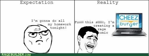 expectations vs reality meta homework - 8242458624